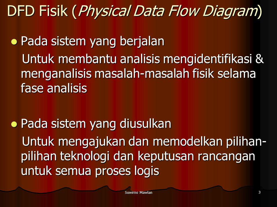 DFD Fisik (Physical Data Flow Diagram)