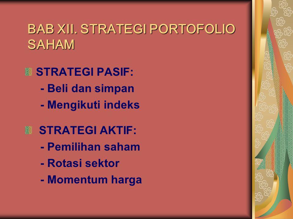 strategi perdagangan saham