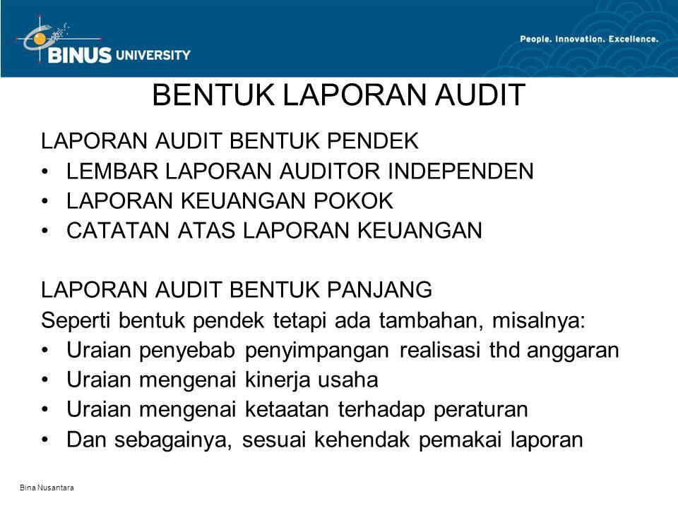 Laporan Audit Pertemuan 3 Ppt Download