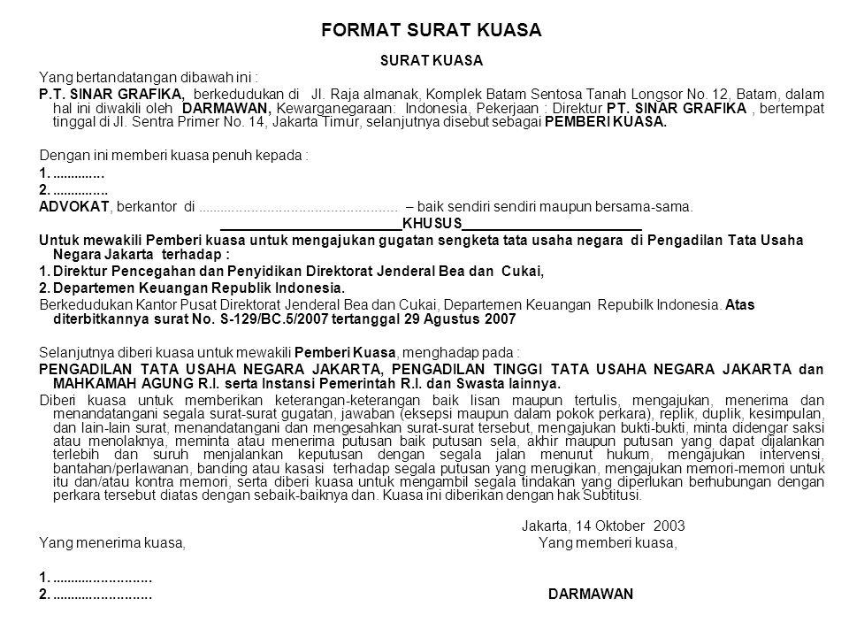 Beracara Di Peradilan Tata Usaha Negara Ppt Download