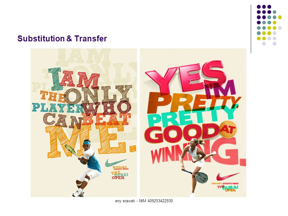 Substitution & Transfer