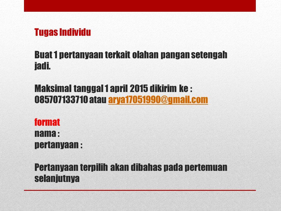 Olahan Setengah Jadi Daging Unggas Dan Ikan Ppt Download