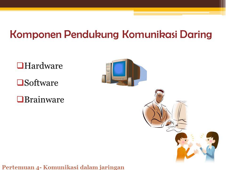 23+ Komponen pendukung komunikasi dalam jaringan info