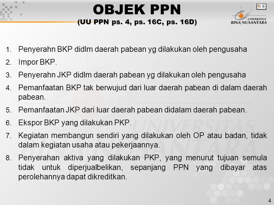 Pertemuan 2 Objek Dan Subjek Ppn Ppt Download