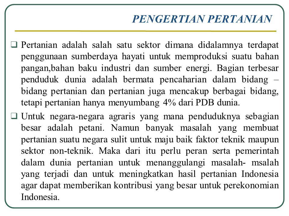 Sektor Pertanian Ppt Download